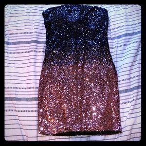 A sequin ombré dress, perfect for nights out!